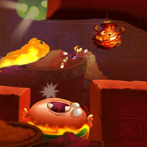 Rayman : Fiesta Run